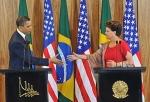 Obama - Rousseff - 2
